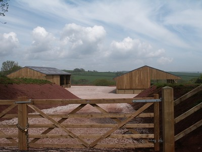 Occombe .. buildings on the Occombe Farm site, owned by Torbay Coast & Countryside Trust