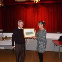 Raffle prize presentation by the Chairman