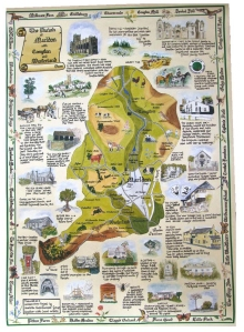 Marldon Parish Map