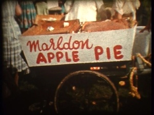 The original Apple Pie Fair cart!