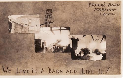 Brock's Barn Churscombe