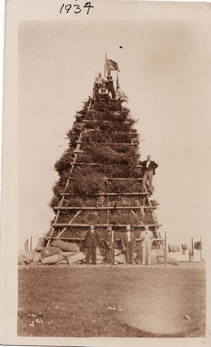 King George V Silver Jubilee celebrations Beacon Hill 1935
