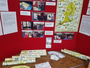 The Parish Map display
