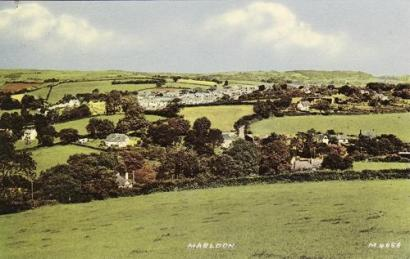 view of Marldon from Beacon Hill