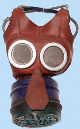 British 'Mickey Mouse' Gas Mask.