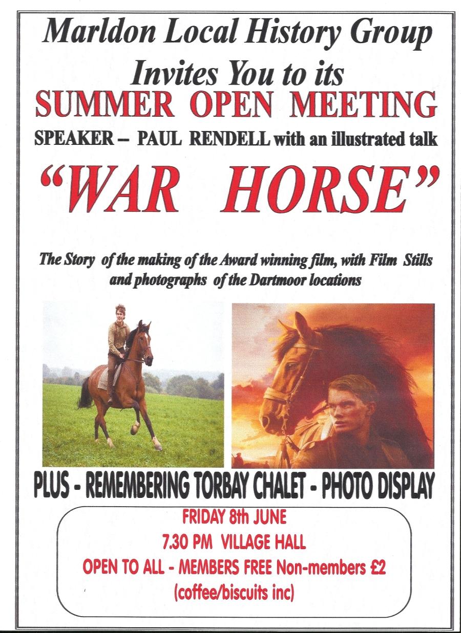 War Horse Flyer