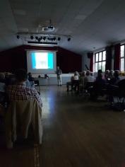 A Talk Underway